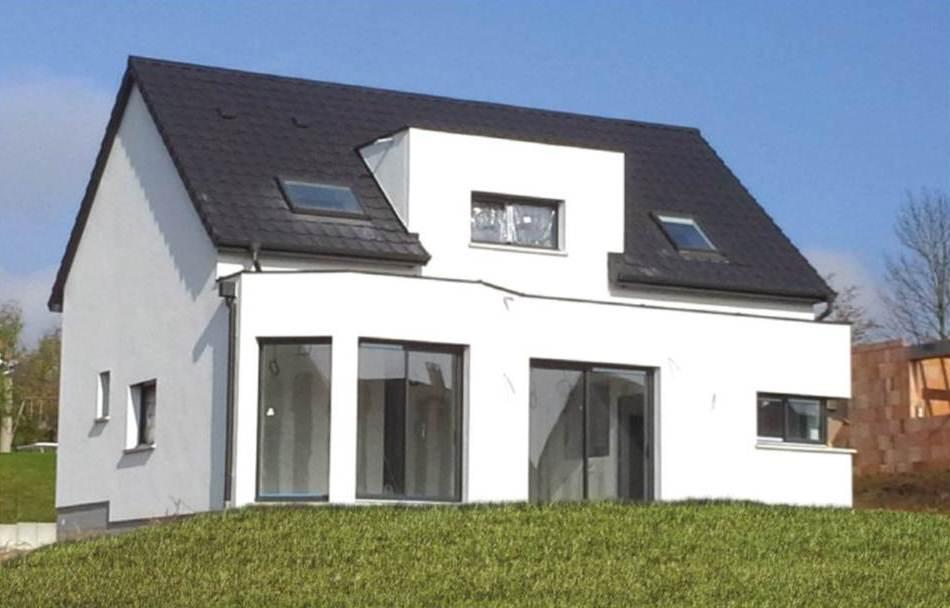 Constructeur maison individuelle avenheim bas rhin for Bow window maison