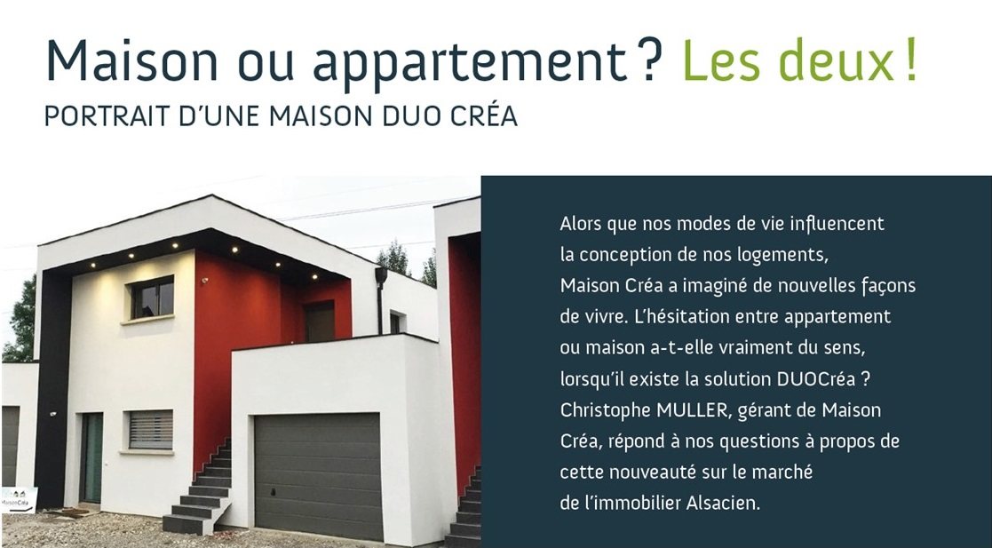 Appartement ou maison d couvrez duocr a for Appartement ou maison