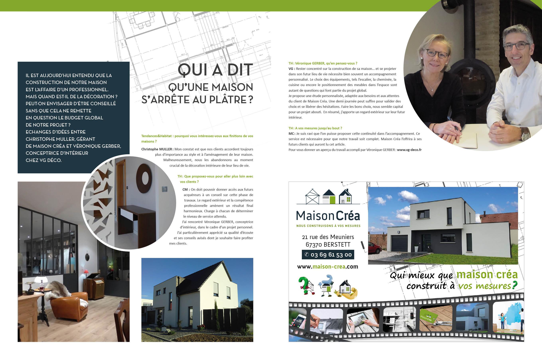 Article Dans Le Nouveau Magazine Tendance Habitat